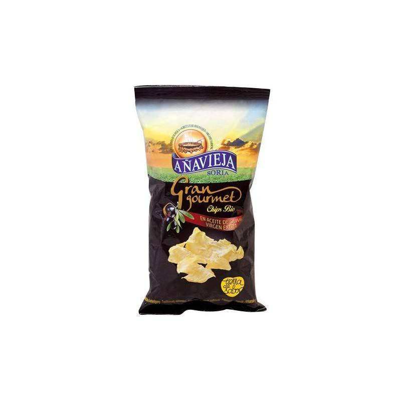 Patatas Ecológicas Fritas en Aceite de Oliva Virgen Extra
