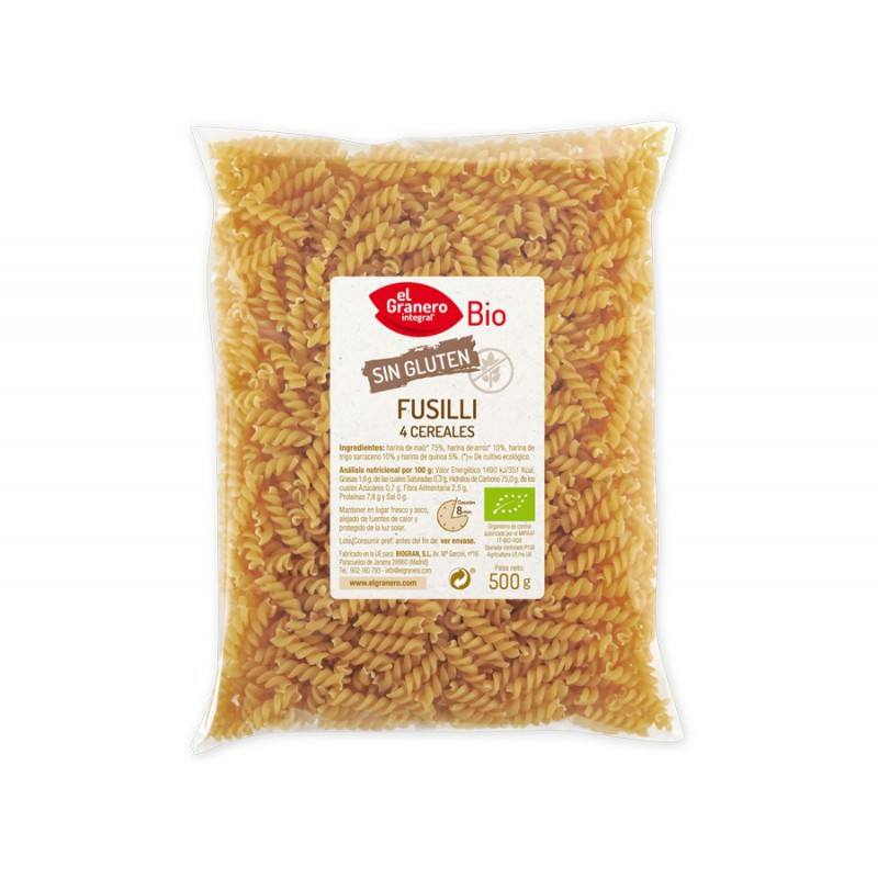 Fusilli 4 cereales