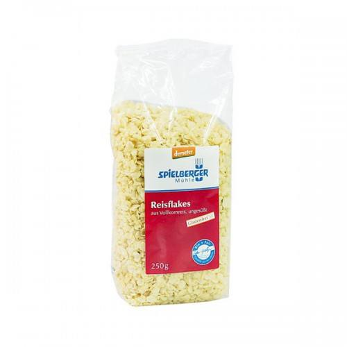 Muesli de copos de arroz