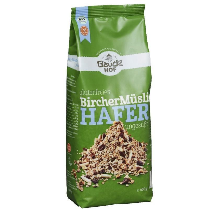 Muesli de Avena sin gluten al estilo Bircher