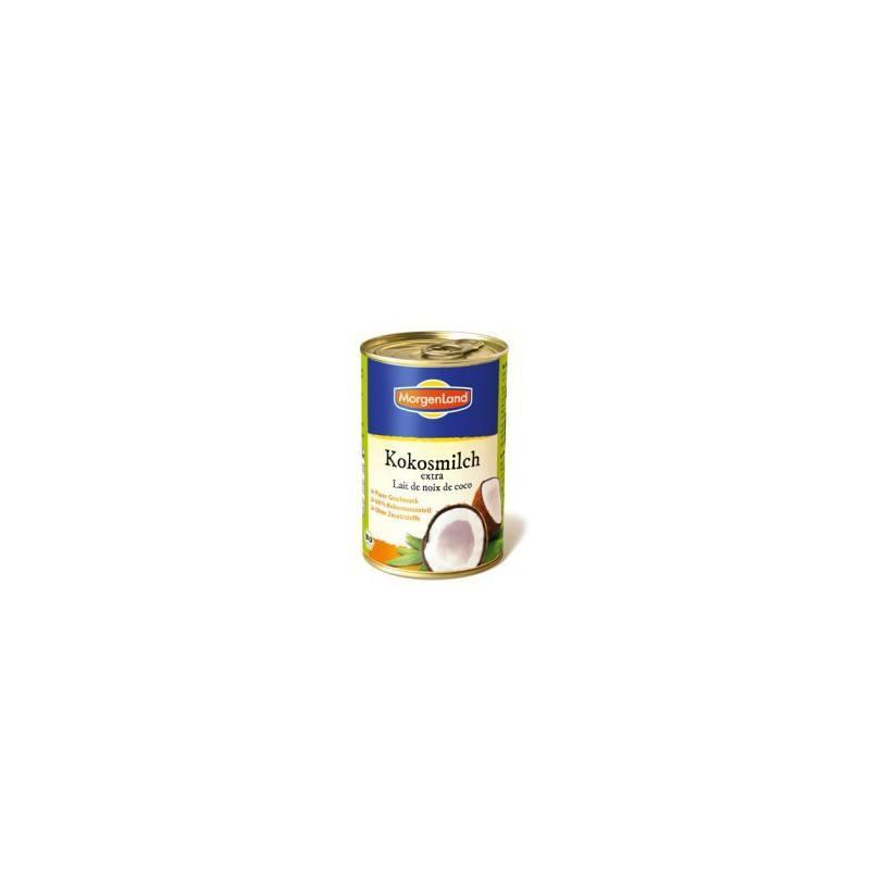 Leche de Coco Extra - 400ml - Morgenland