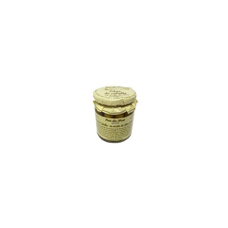 Filete de Caballa -en aceite de oliva ecólogico-