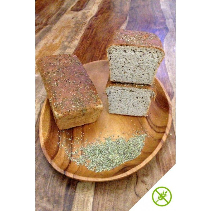 Pan integral de sarraceno con hierbas provenzales ECO SG 500G