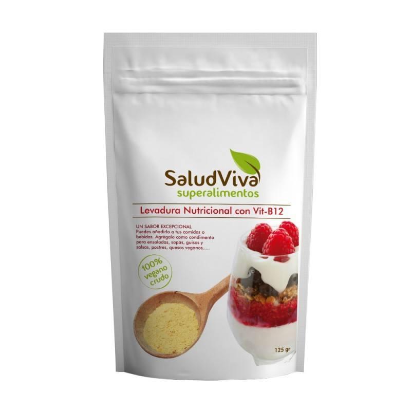 Levadura Nutricional con Vitamina B12 125gr