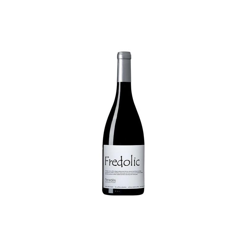 Vino negro natural sin sulfitos Fredolic 2015