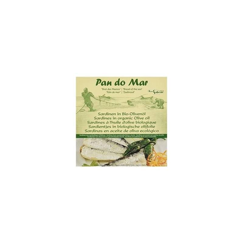 Sardinas -en aceite de oliva ecólogico-