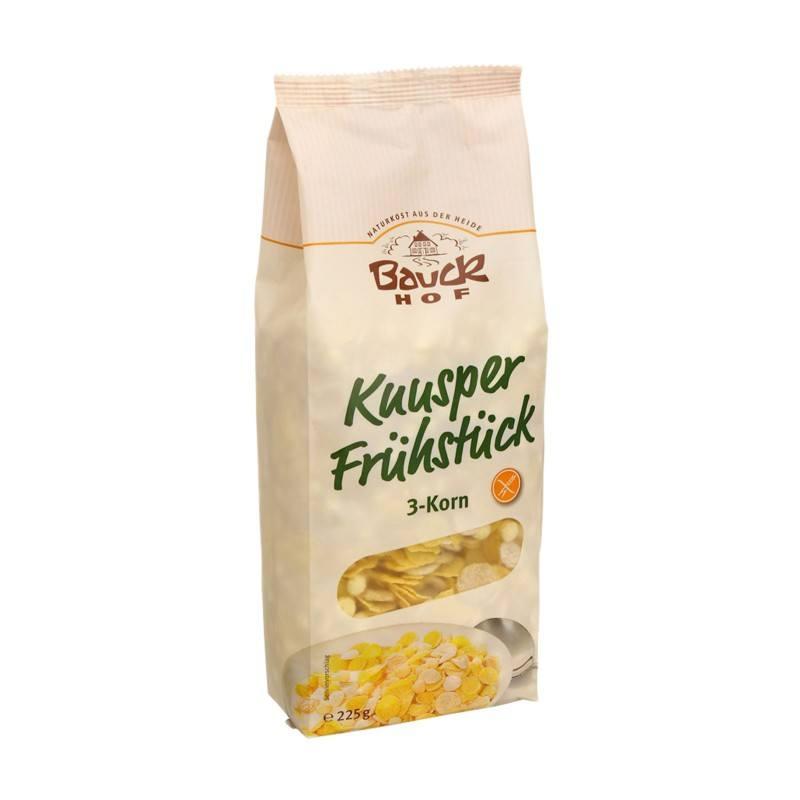 Desayuno Crujiente de 3 Cereales