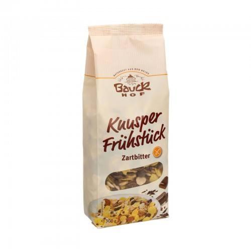 Desayuno Crujiente con Chocolate Negro