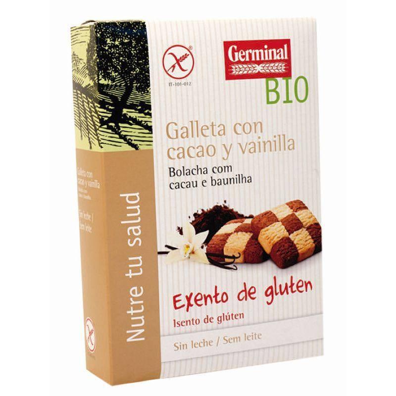 Galletas con cacao y vainilla