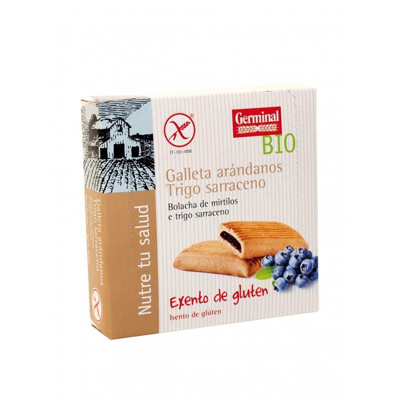 Galletas de arándanos y trigo sarraceno