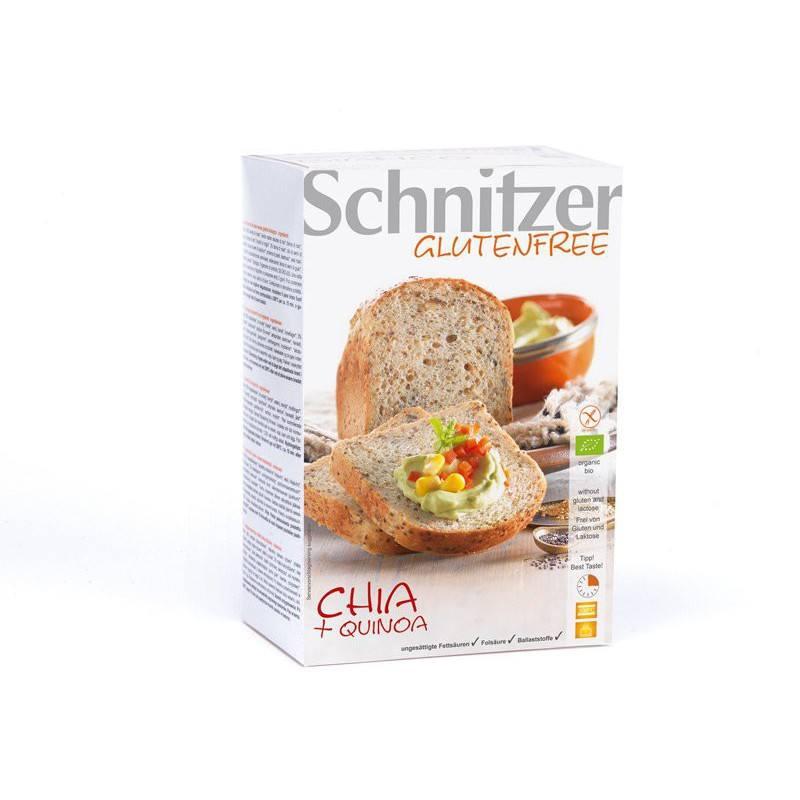 Pan de Chia y Quinoa