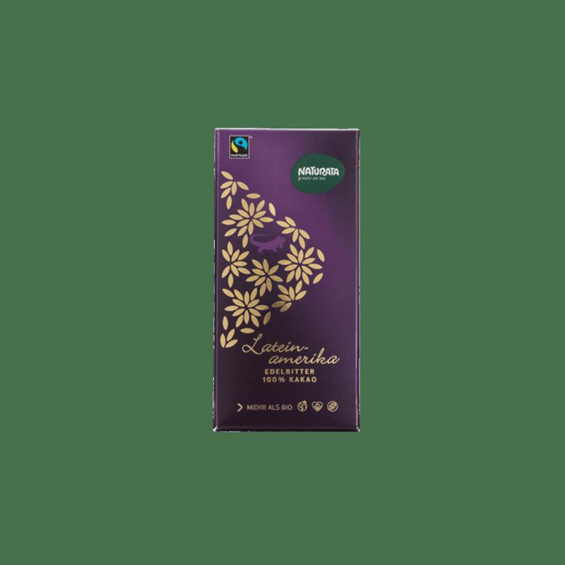 Chocolate amargo Latino America 100%