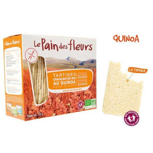Pan crujiente de Quinoa