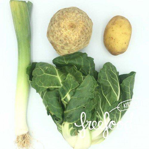 Pack de Crema de acelgas con celery