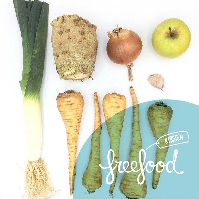 Pack de Crema de chirivía, celery y manzana