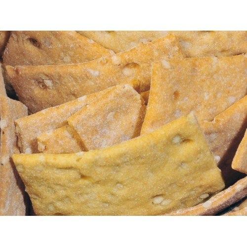 Snack con sésamo y cebolla