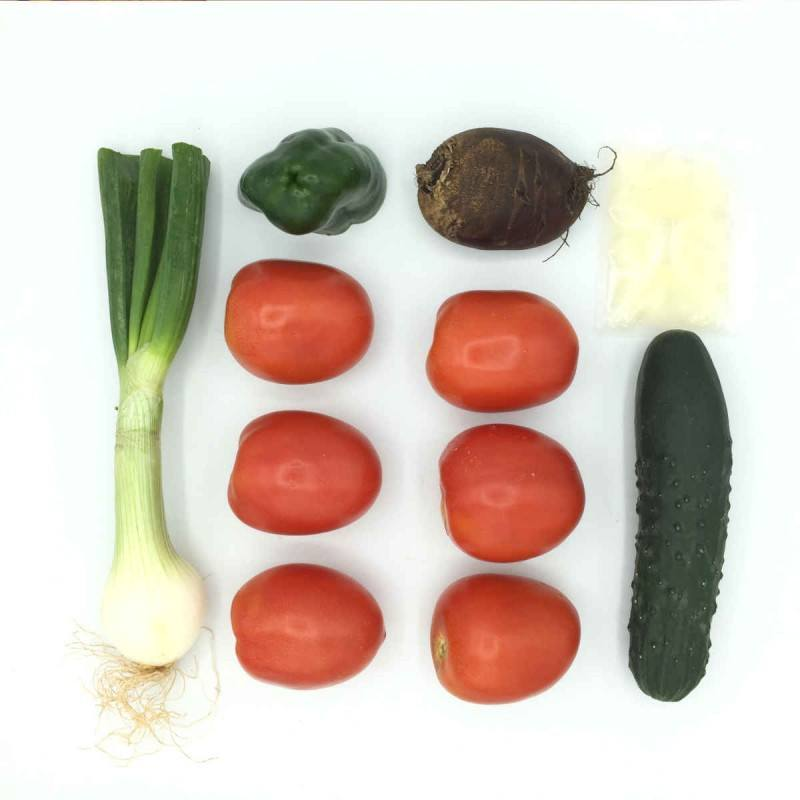 Pack de gazpacho con remolacha