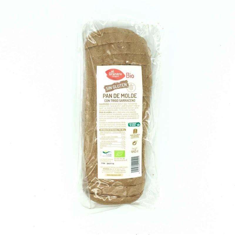Pan de molde con Trigo Sarraceno