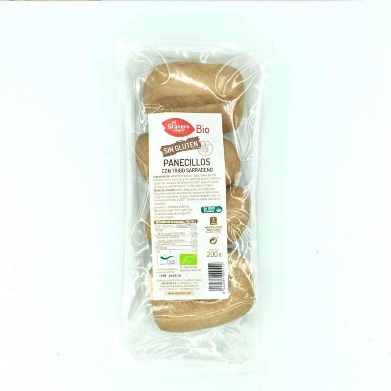 Pan de molde con trigo sarraceno y algarroba