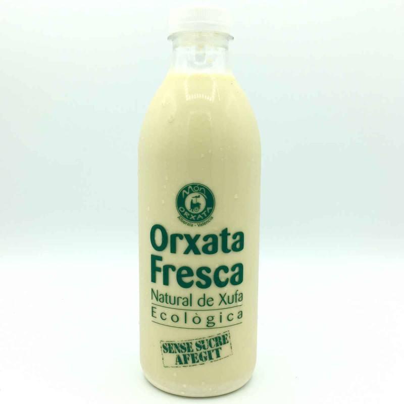 Horchata fresca natural de chufa -SIN AZUCAR-