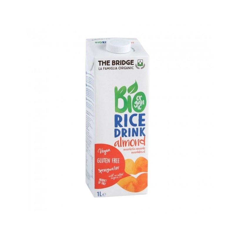 Bebida de arroz con almendra