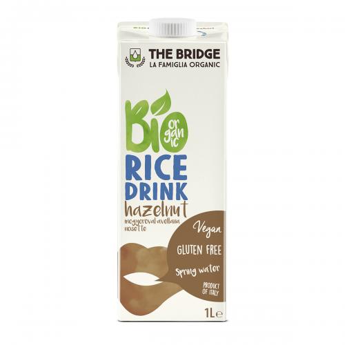 Bebida de arroz y avellana