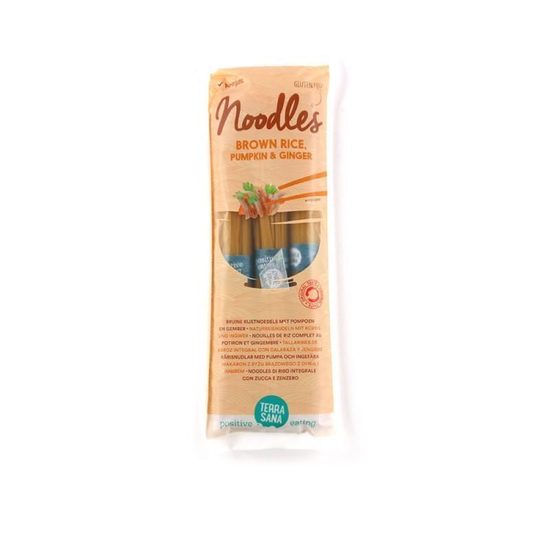 Noodles Arroz-Calabaza-Jengibre