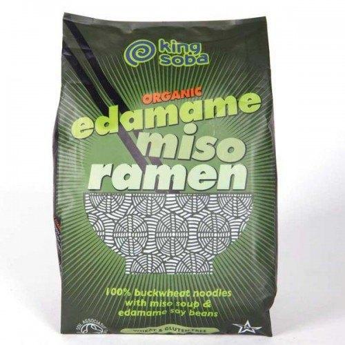 Ramen Noodles con Miso y Edamame