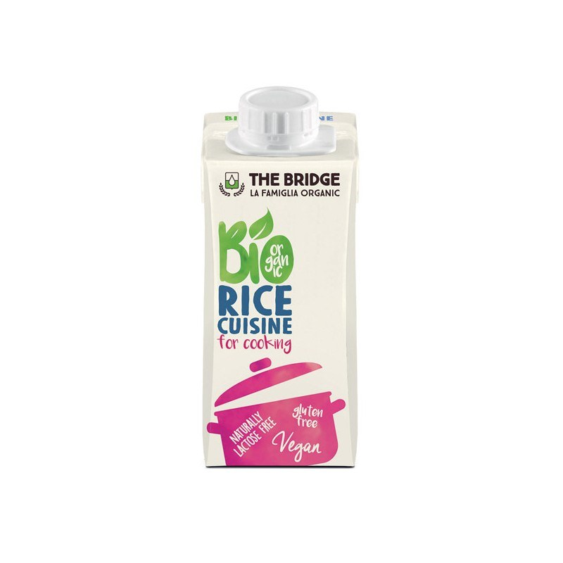 Crema de Arroz para cocinar - 200ml - The bridge