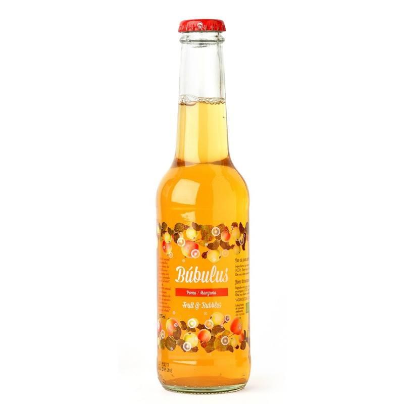 Zumo de Manzana con Gas -Búbulus-