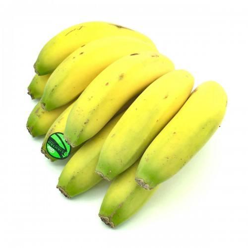 plátano ecológico de canarias.
