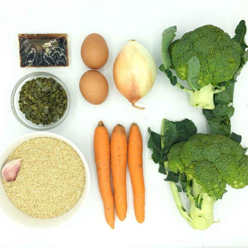 Pack de Quinoa 3 delícias con brocoli