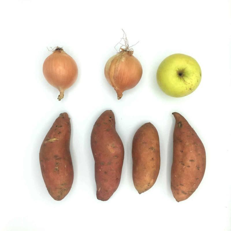 Pack de Crema de boniato con manzana