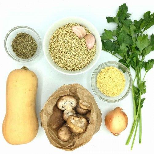 Pack de Sarraceno en grano con setas y calabaza