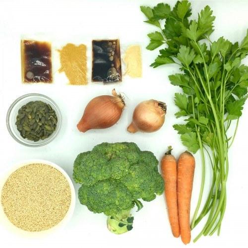 Pack de Quinoa oriental con judias verdes