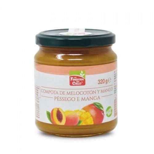 Compota de mango y melocotón