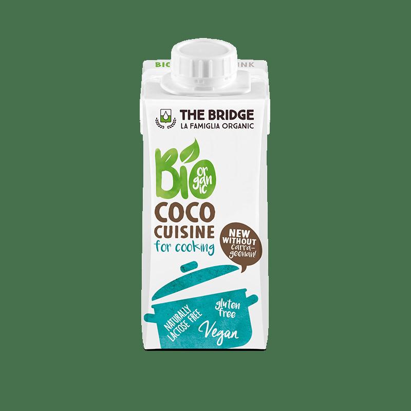 Crema de coco para cocinar