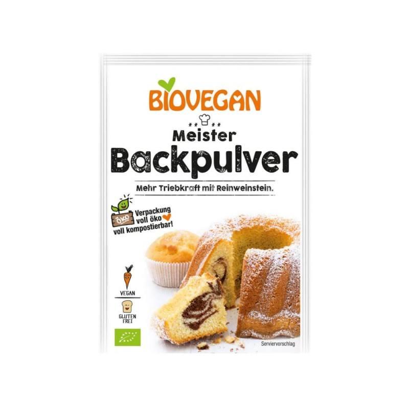 Levadura de pasteleria - 51gr - Biovegan