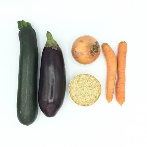 Pack de quinoa con verduras asadas