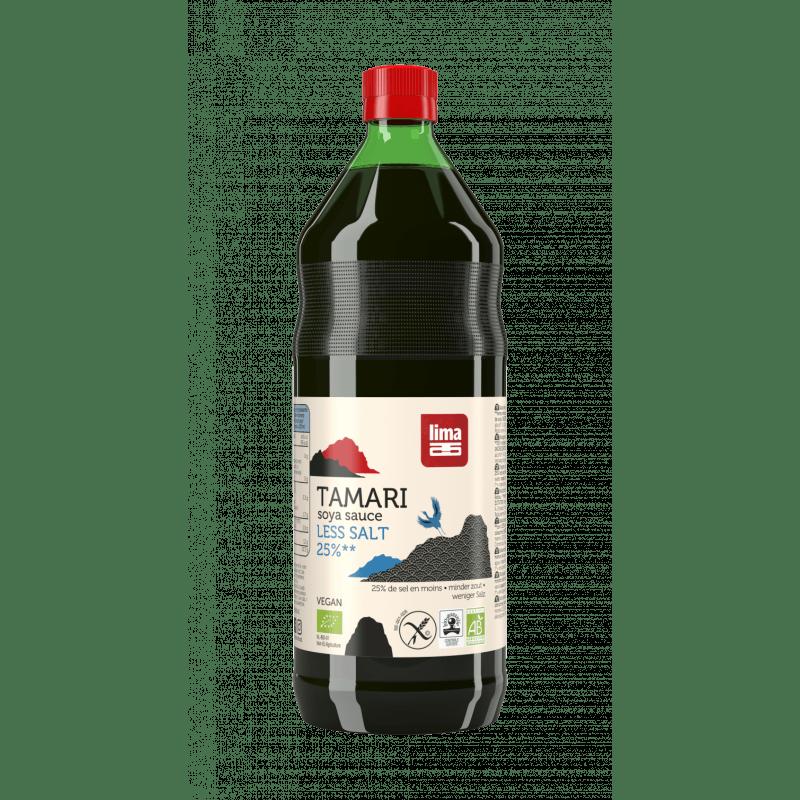 Tamari 25% menos sal 500 ml