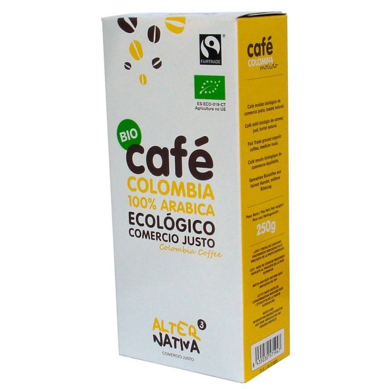 Cafe colombia molido