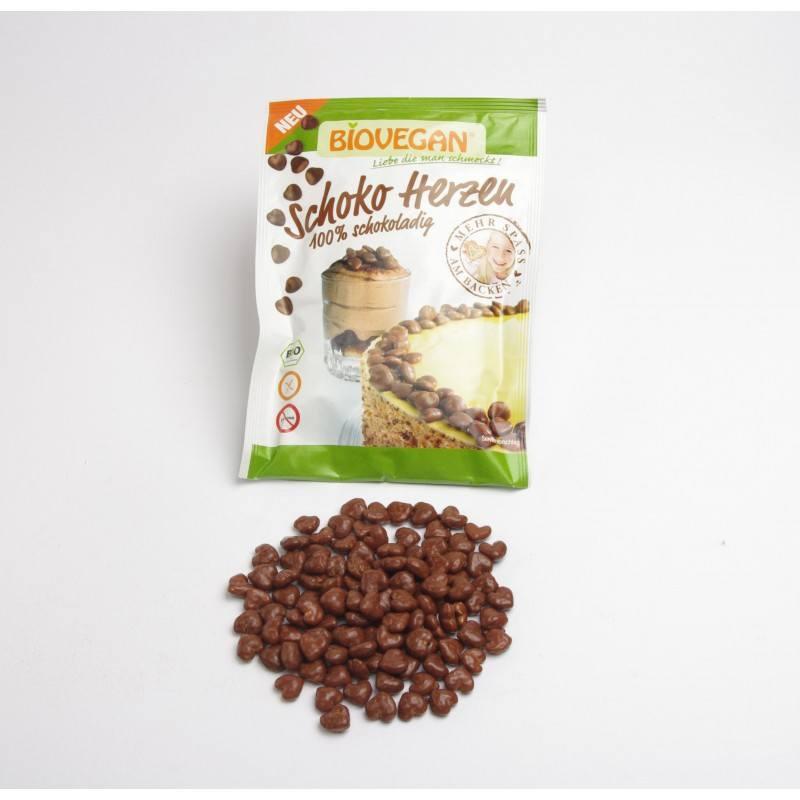 Corazones Chocolate