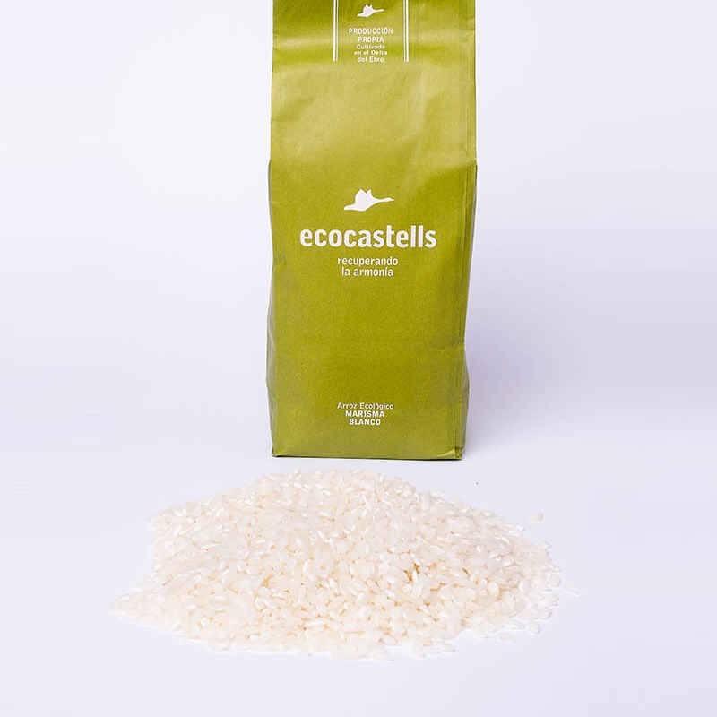 Arroz blanco marisma - granel - ecocastells