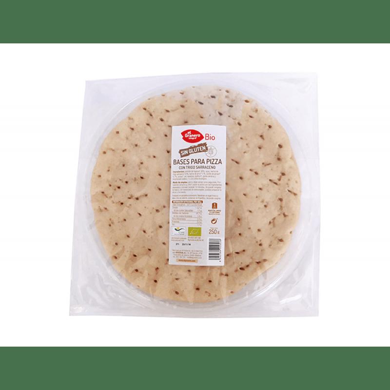 Base pizza con Trigo Sarraceno - 250gr - Biogran