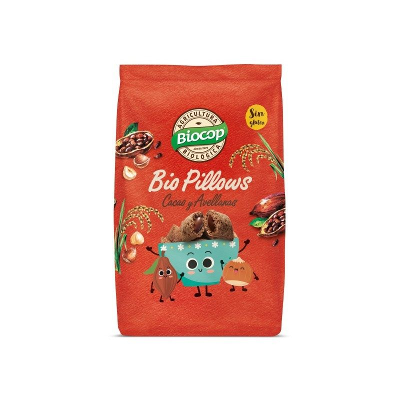Biopillows cacao y avellanas - 300gr - Biocop