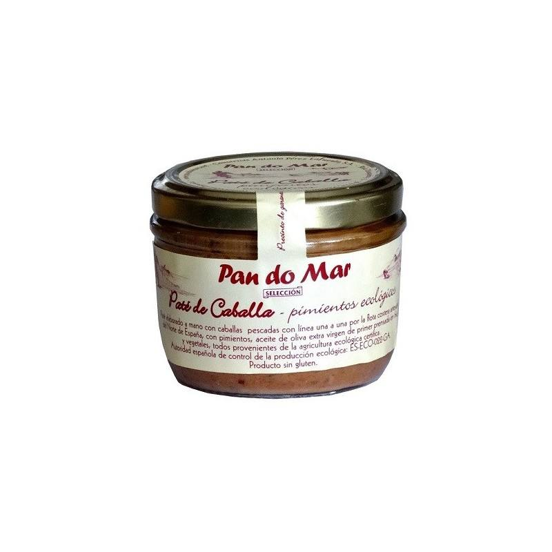 Paté de Caballa con pimientos -125gr - Pan do mar
