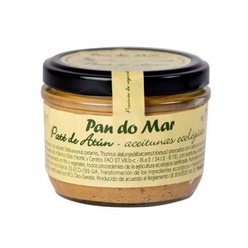 Paté de Atún con aceitunas - 125gr - Pan do mar