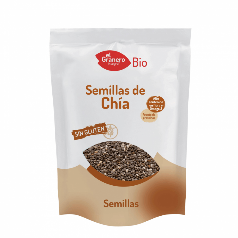 Semillas de chia bio - 500gr - El granero