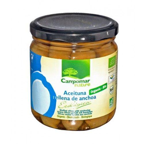 Aceituna rellena de anchoa - 350gr - campomar