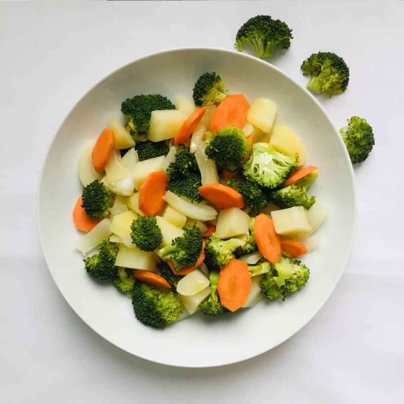 Menestra de brócoli